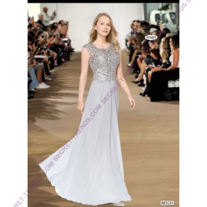 Beautiful Elegant Chiffon Evening Dress R1651